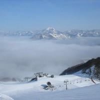 赤倉スキー場-雲海